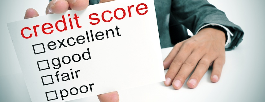 What is a 'credit score?'